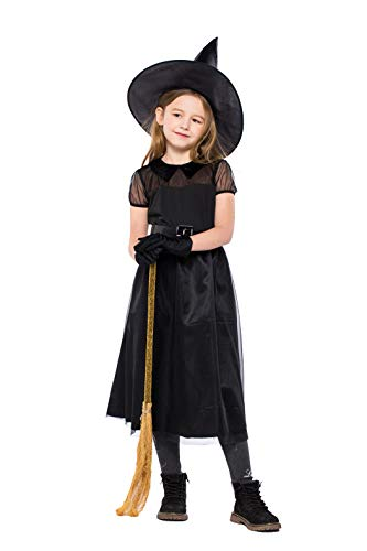 (Kid's Black Hexe/Little Devil Halloween Cosplay Kostüm)
