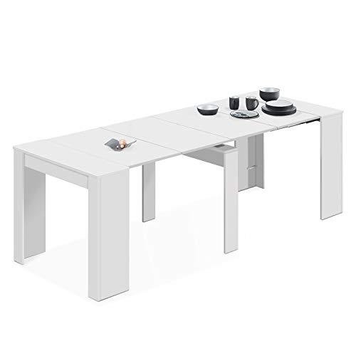Habitdesign 004580BO - Mesa de comedor consola extensible hasta 235 cm, acabado...