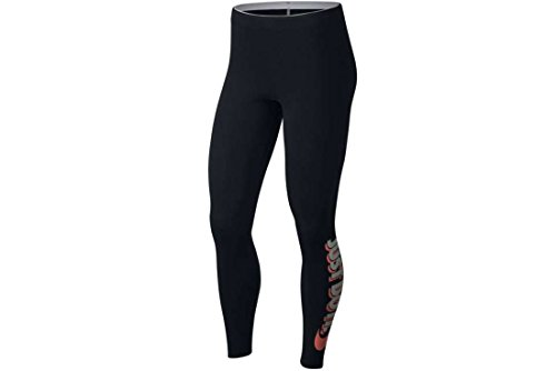 Nike W NSW lggng JDI Club Leggings, Damen XL Schwarz (black/lt atomic pink) Preisvergleich