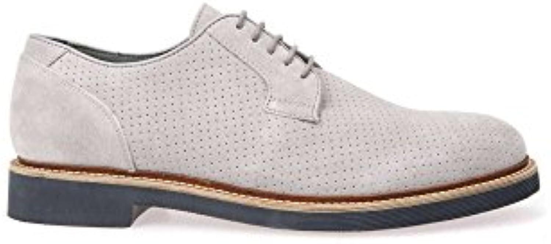 Geox U Damocle a, Zapatos de Cordones Derby para Hombre