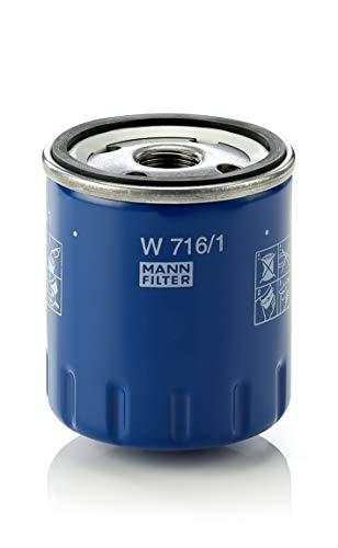 MANN-FILTER W 716/1  Originale  Filtro Olio , Per Automob