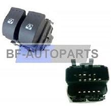 Interruptor para elevalunas eléctrico para Renault Clio 2, Megane Laguna y Trafic Scenic