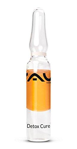 RAU Detox Cure Ampulle 10 x 2 ml - Konzentrat zur Entgiftung der Haut mit Sanddorn, Hyaluronsäure und Vitamin C & E - Vitamin C Detox