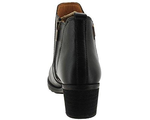 Pikolinos, Andorra-8697 913, Femme, bottillon noir lisse Black