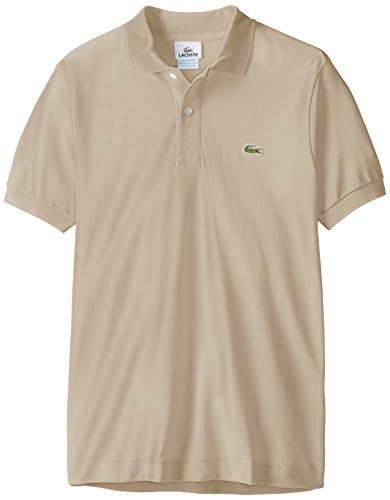 Classic Fit Polo T-shirt (Lacoste Polo Herren, Poloshirts , Gris (Minor AE0) , S)