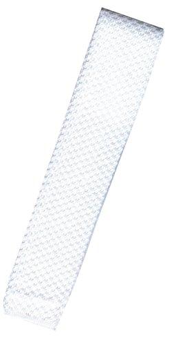Strickkrawatte, weiß (Krawatte Reiten)
