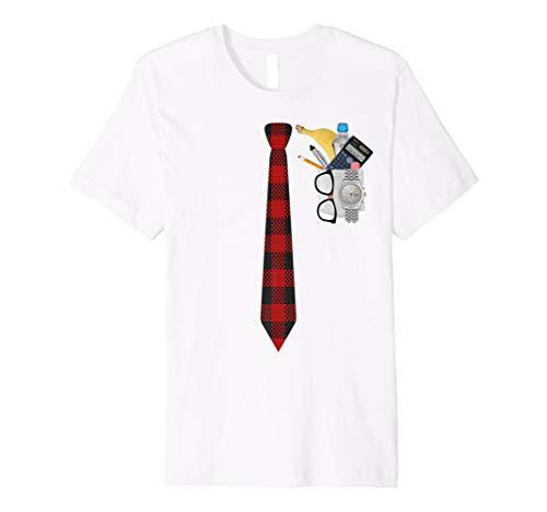 Halloween Nerd Kostüm T Shirt Funny Geek xo4u ()