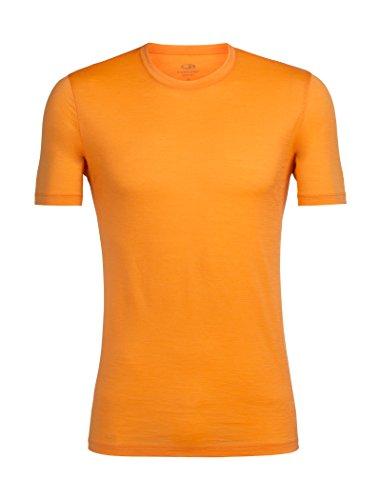 Icebreaker Herren Tech Lite Ss Crewe T-Shirt, Midnight Navy (Marineblau), Einheitsgröße Koi