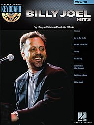 Keyboard Play-Along Volume 13: Billy Joel - Hits. Partituras, CD para Piano, Voz y Guitarra