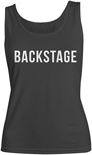Backstage Music Crew Concert Femme Tank Top Debardeur Noir