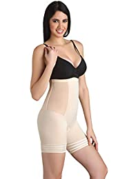 998da199eda Swee Coral - Women s Shapewear - High Waist and Short Thigh Shaper - Beige