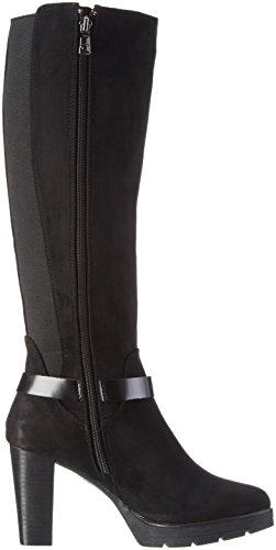 Tom Tailor 1690805, Bottess femme Noir - Noir