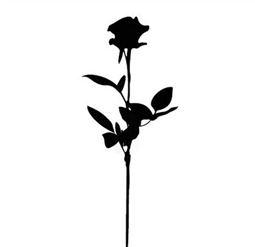Ruofengpuzi adesivi per tatuaggi provvisori impermeabili fiori per rose nere design sexy per body art attrezzi per trucco