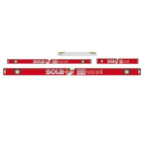 Preisvergleich Produktbild Sola BigX Set - Alu-Wasserwaage BigX 60 - BigX3 100 - BigX3 180