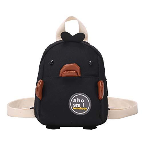 he Damen Unisex Student Schulrucksack Rucksack Backpack Schultasche handbag,nette Enten-Segeltuch-einfacher Art- und Weisestudenten-Vielzweckrucksack ()