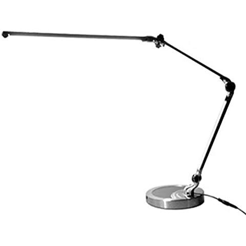 FWEF Metal brazo oficina dormitorio Touch dimmer LED ojo protección lámpara 53 * 27 * 19 cm . touch