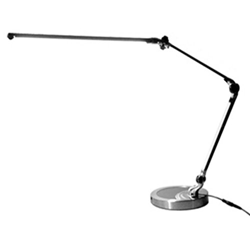 HHORD Metall lange Arm Büro Schlafzimmer berühren Dimmen LED Augen Schutz Lampe 53 * 27 * 19 cm , touch switch Baldachin Schutz Uhr
