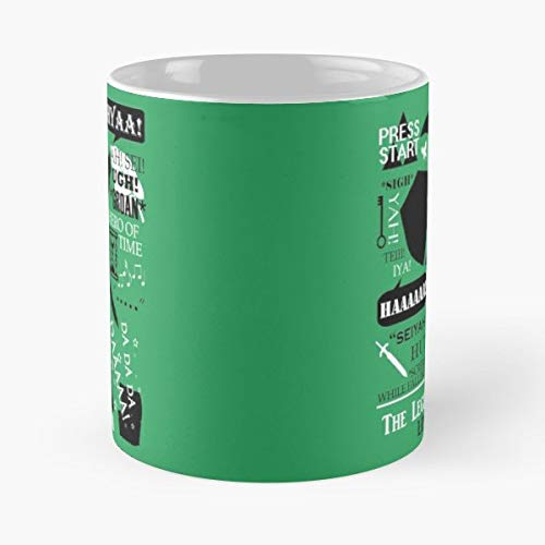 Legend Of Zelda The Best Gift Ceramic Coffee Mugs