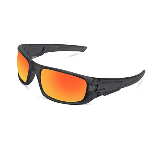 sunshineBoby Sonnenbrillen Radfahren Fahren Reiten Schutzbrille Outdoor Sports Eyewear--Damen und Herren Mode Driving Sonnenbrille Polarisierte Brille Sport Eyewear Angeln Golf mit Rahmen (Mehrfarbig G)