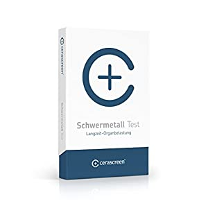 Schwermetall Test Kit von CERASCREEN – Jetzt auf Aluminum, Arsen, Blei, Cadmium, Chrom, Cobalt, Kupfer, Nickel, Quecksilber, Zink von zuhause messen | Urintest