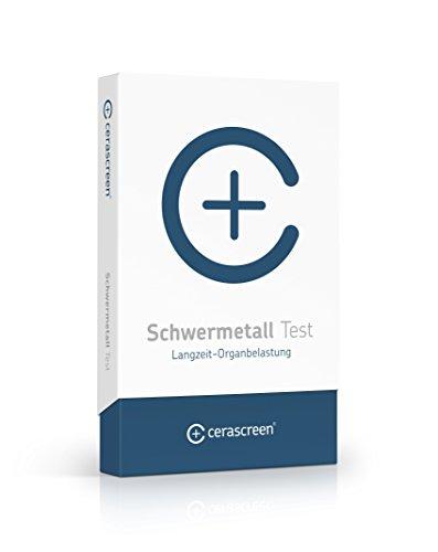 cerascreen® Schwermetall Test Kit – Testet: Aluminum, Arsen, Blei, Cadmium, Chrom, Cobalt, Kupfer, Nickel, Quecksilber, Zink | Schwermetall Urintest