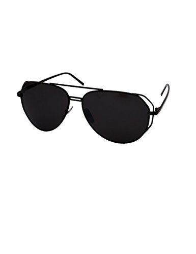 Persönlichkeit halbkreisförmige Rahmen Sonnenbrille große Rahmen Reparatur Gesicht Dame Sonnenbrille Männer Farbe Film Sonnenbrillen ( farbe : 2 )