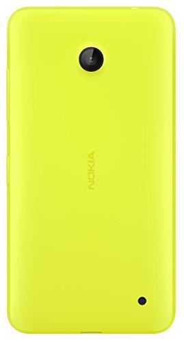 Nokia hard shell, custodia originale rigida per lumia 630/635, giallo lucido