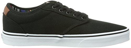 Vans Herren Atwood Deluxe Sneakers Schwarz ((10oz Canvas) B D8A)