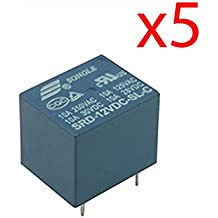 Fologar 5X Rele 12v 10A SDR