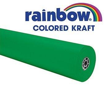 rainbow-duo-finish-kraft-roll-36-inch-x-100-feet-brite-green-by-pacon