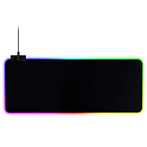 Sttoce Alfombrilla ratón RGB iluminada LED Alfombrilla