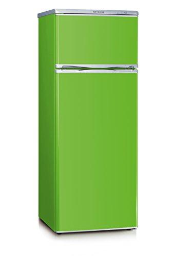 SEVERIN Doppeltür-Kühl-/Gefrierschrank, 166 L/46 L, Energieeffizienzklasse A++, KS 9796, grün