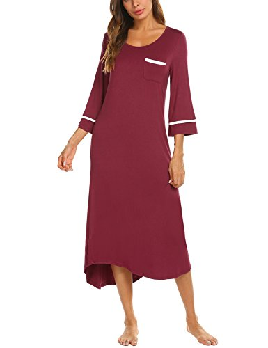 Camicia da notte donna estate in cotone manica corta fine serie TG 44  DECAM017