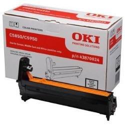 OKI 43870024 C5850, C5950 Trommel 20.000 Seiten, schwarz - Oki Image Drum Kit