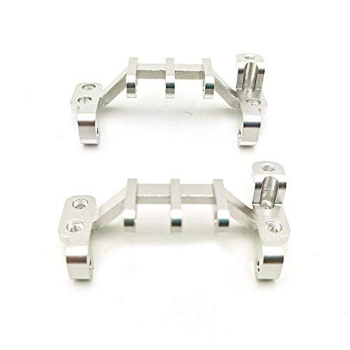 XuBa WPL C34 Common Upgrade Zubehör Traction Link Base für 1/16 Truck RC Car Parts einbauen Silber