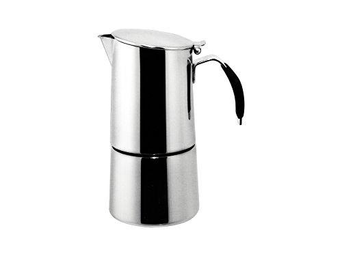 Ilsa-Omnia-Caffettiera-Espresso-con-Fondo-Induzione-Acciaio-Inossidabile-Argento