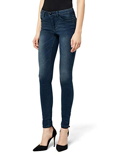 ONLY Damen onlCARMEN REG SK DNM CRY1602 NOOS Skinny Jeans, Blau (Dark Blue Denim), W30/L32 Dark Blue Denim