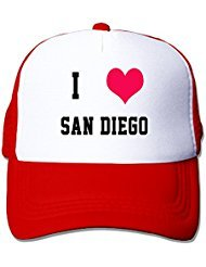 i-love-san-diego-nylon-adult-baseball-cap-trucker-hat