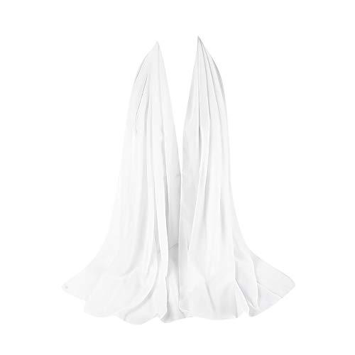 ZEELIY Muslim Hijab Frau Frauen Plain Bubble Chiffon Schal Chiffon Schal Hijab Wrap Printe Schals Stirnband Muslim Hijabs - Neue Mens Black Dress Hose