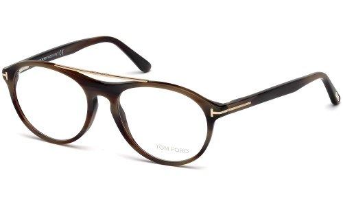 Tom Ford Montures de lunettes 5411 Shiny Black 062: Brown Horn
