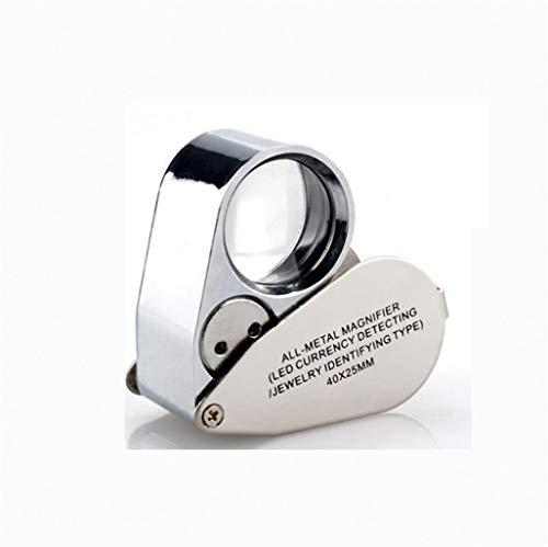 4X HD Handlupe mit LED-Licht Mikroskop tragbare Mini-Handyreparatur 20 ältere Lesung 100 Hobbies Crafts -