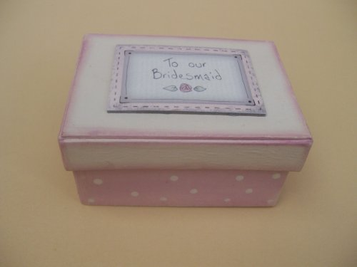 k/Andenken Box (Brautjungfer-geschenk-boxen)