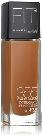 Maybelline Fit Me - Maybelline Fit Me Liquid Foundation SPF 18