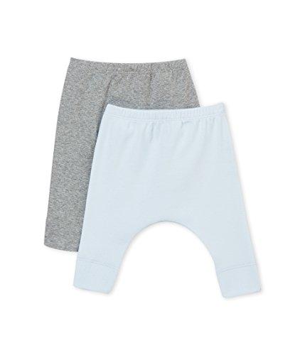 Petit Bateau Baby-Jungen Leggings Caleçon Long_4565400, 2er Pack, Mehrfarbig (Variante 1 00), 80 (Herstellergröße: 12M/74cm) (Petite-leggings)