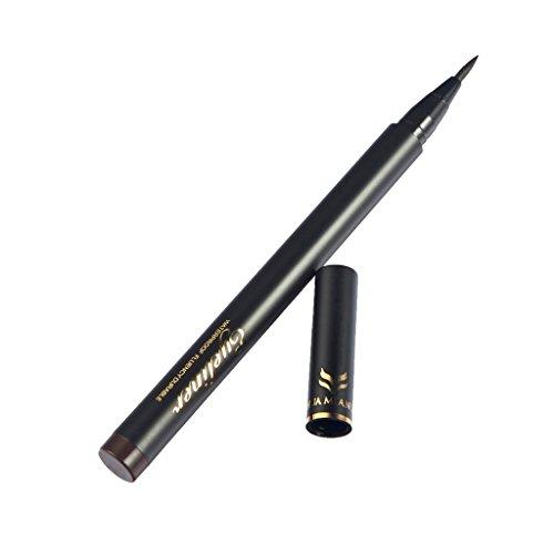 Gazechimp Augen Make-up - Wasserdichter Liquid Eyeliner Pen, Geschenke für Damen oder Mädchen - Schwarz, 13.2cm