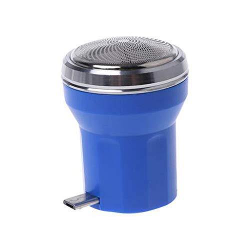 Hunpta@ Rasierer für Herren,Mini tragbarer intelligenter Telefon-Rasierer-Reiserasierer-Mann-Rasiermesser-Smartphone Bart-Rasierer (Blau)