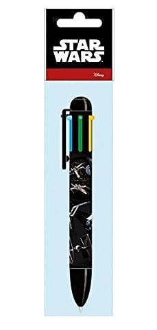 Vaisseaux Saga Star Wars stylo a bille 6 coulurs écriture idée Cadeau X-Wing Starfighter et Tie Fighter