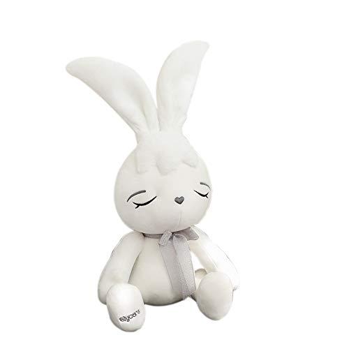 Balai coniglio di pasqua coniglietto peluche coniglio con le orecchie lunghe carino figurina coniglio bambola cuscino per ragazza regalo di compleanno