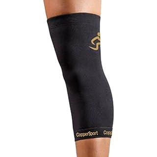 coppersport Knie Sleeve, ASD-CS001D, schwarz, xl