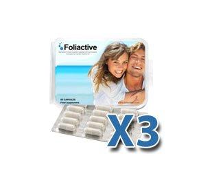 Foliactive Pills 3 x Boites + 1 x Boites Gratis